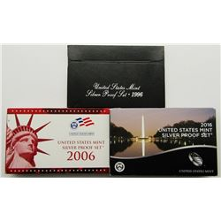 3-U.S. SILVER PROOF SETS: 2016, 2006
