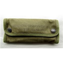 US MILITARY SURGICAL INSTRUMENT KIT.