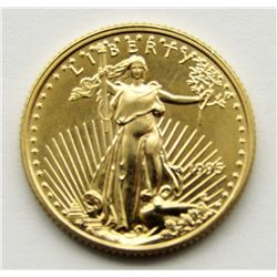 1995 1/10 ounce Gold Five Dollar $5 Eagle