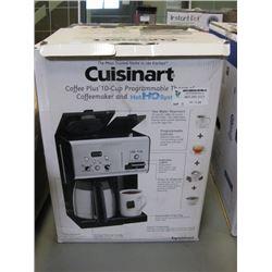 CUISINART - COFFEE PLUS 10 CUP PROGRAMMABLE COFFEEMAKER