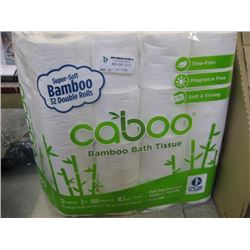 CABOO - TOILET PAPER - 32 DOUBLE ROLLS