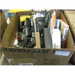 LOT OF ASSORTED ITEMS - ELECTRONICS