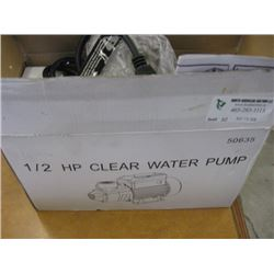 1/2HP CLEAR WATER PUMP - MODEL QB-60