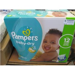 PAMPERS- SIZE 3 DIAPERS