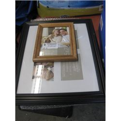 LOT OF ASSORTED ITEMS - FRAMES