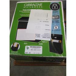 GIBRALTAR - LOCKONG MAIL BOX