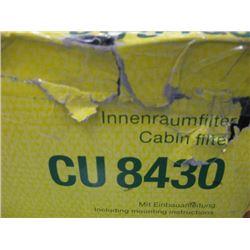 MANN FILTER - CU 8430 CABIN FLITER