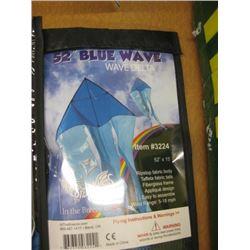 52 INCH BLUE WAVE KITE