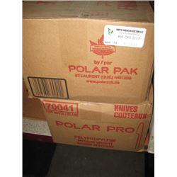 POLAR - 1000 WHITE KNIVES X2 BOXES