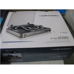AUDIO- TECHNICA - FULLY AUTOMATIC BELT DRIVE STEREO TURNTABLE