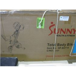 SUNNY HEALTH & FITNESS - EXCERSIZE BIKE