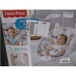 FISHER PRICE - SWEET SNUGAPUPPY DREAMS DELUXE BOUNCER