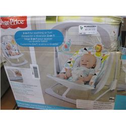 FISHER PRICE - DELUXE TAKE ALONG SWING & SEAT