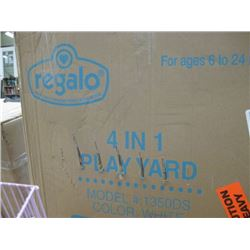 REGALO - 4 IN 1 PLAY YARD