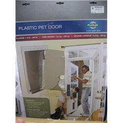 PETSAFE - PLASTIC PET DOOR