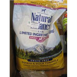 NATURAL BALANCE - DOG FOOD 12LBS BAG