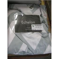 ECHELON - CHEVRON SHOWER CURTAIN