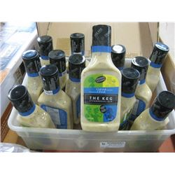 THE KEG CAESAR DRESSING - 18x475ML BOTTLES