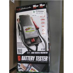SCHUMAKER - BATTERY TESTER