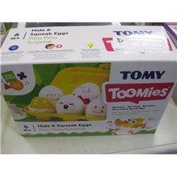 TOMY - TOOMIES HIDE & SQUEEZE EGGS
