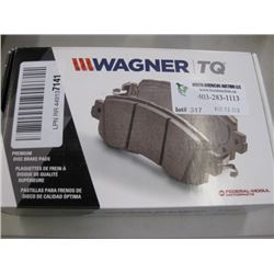 WAGNER - BRAKE PADS - QC866