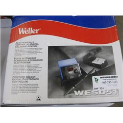 WELLER - ELECTRONICALLY CONTROLLED DIGITAL SOLDERING STATION
