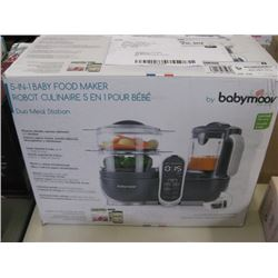 BABYMOOVE - 5 IN 1 BABY FOOD MAKER