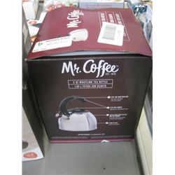 MR.COFFEE - 2 QT WHISTLING TEA KETTLE