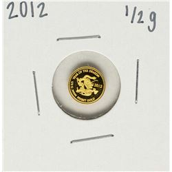 2012 Lao Peoples Democratic Republic 1/2 Gram Dragon Gold Coin