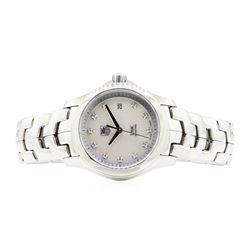 Stainless Steel Ladies Tag Heuer Link Wristwatch