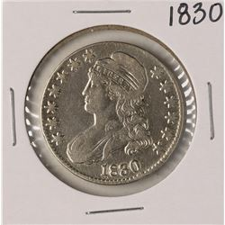 1830 Large 0 Capped Bust Half Dollar Coin