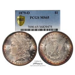 1879-O $1 Morgan Silver Dollar Coin PCGS MS65
