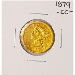1879-CC $10 Liberty Head Eagle Gold Coin