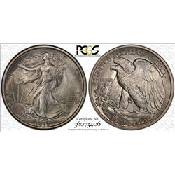 1918 Walking Liberty Half Dollar Coin PCGS MS63