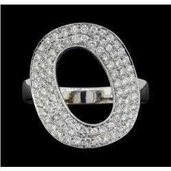 18KT White Gold 1.00 ctw Diamond Ring