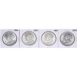 Lot of 1886-1889 $1 Morgan Silver Dollar Coins