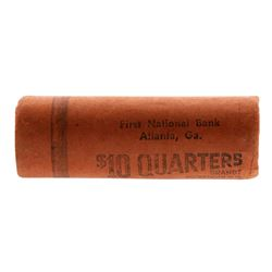 Roll of (40) Brilliant Uncirculated 1959 Washington Quarter Coins