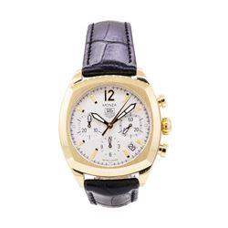 Tag Heuer Mens Monza 18KT Yellow Gold Wristwatch