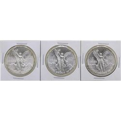 Lot of 1982Mo/1983Mo/1985Mo Mexico Silver Libertad Coins