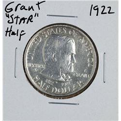"1922 Ulysses S. Grant ""Star"" Commemorative Half Dollar Coin"