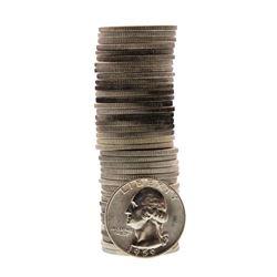 Roll of (40) Brilliant Uncirculated 1959 Washington Quarter Coins
