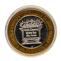 .999 Fine Silver Gold Country Motor Inn Elko, Nevada $10 Limited Edition Gaming