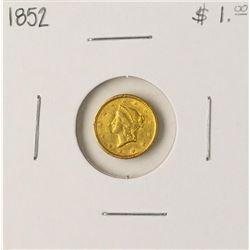 1852 $1 Liberty Head Gold Dollar Coin