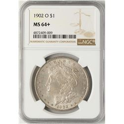 1902-O $1 Morgan Silver Dollar Coin NGC MS64+
