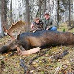 6 Day Thompson Shiras Moose Hunt
