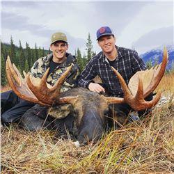 12 Day Northern BC Moose Hunt