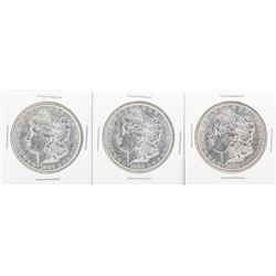 Lot of (5) 1888-O $1 Morgan Silver Dollar Coins