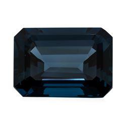 36.86 ct. Natural Emerald Cut London Blue Topaz