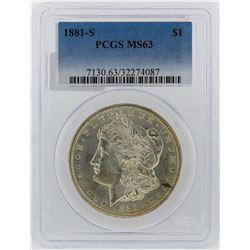 1881-S PCGS MS63 Morgan Silver Dollar