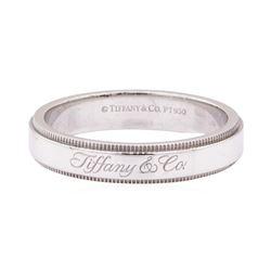 Tiffany and Company Band - Platinum